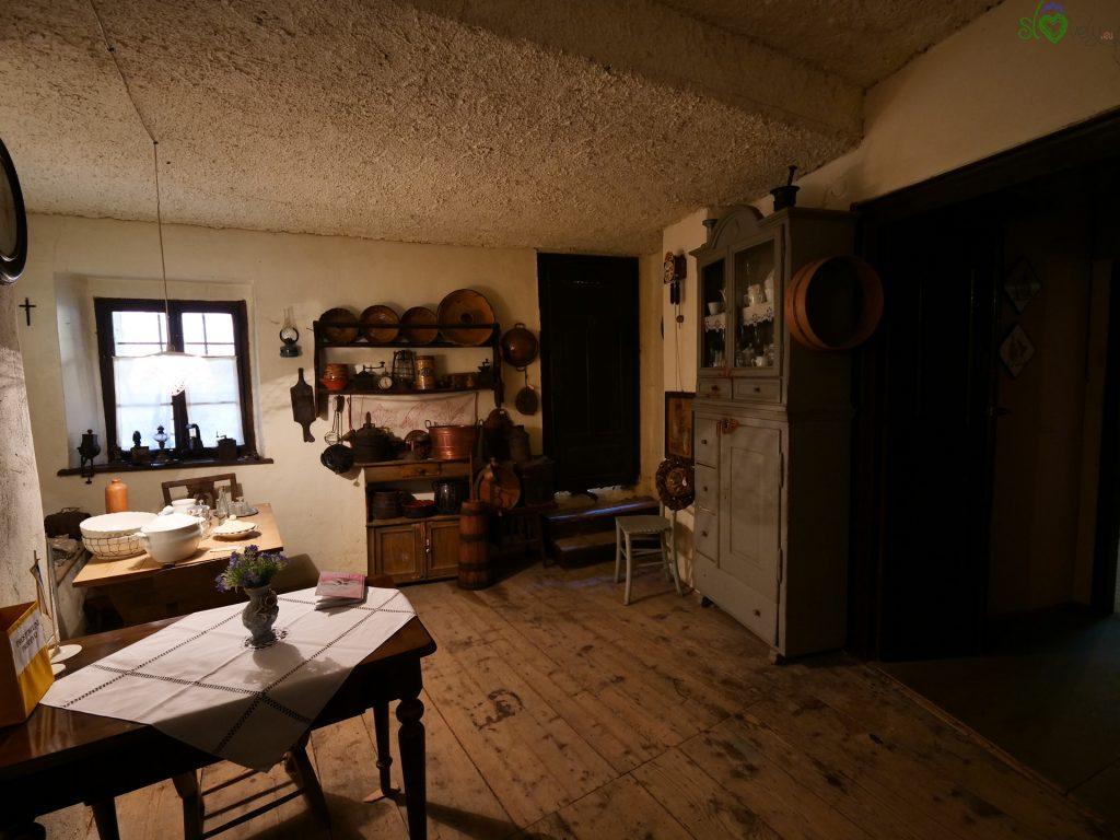 Vipava - L'interno della Kebetova hiša