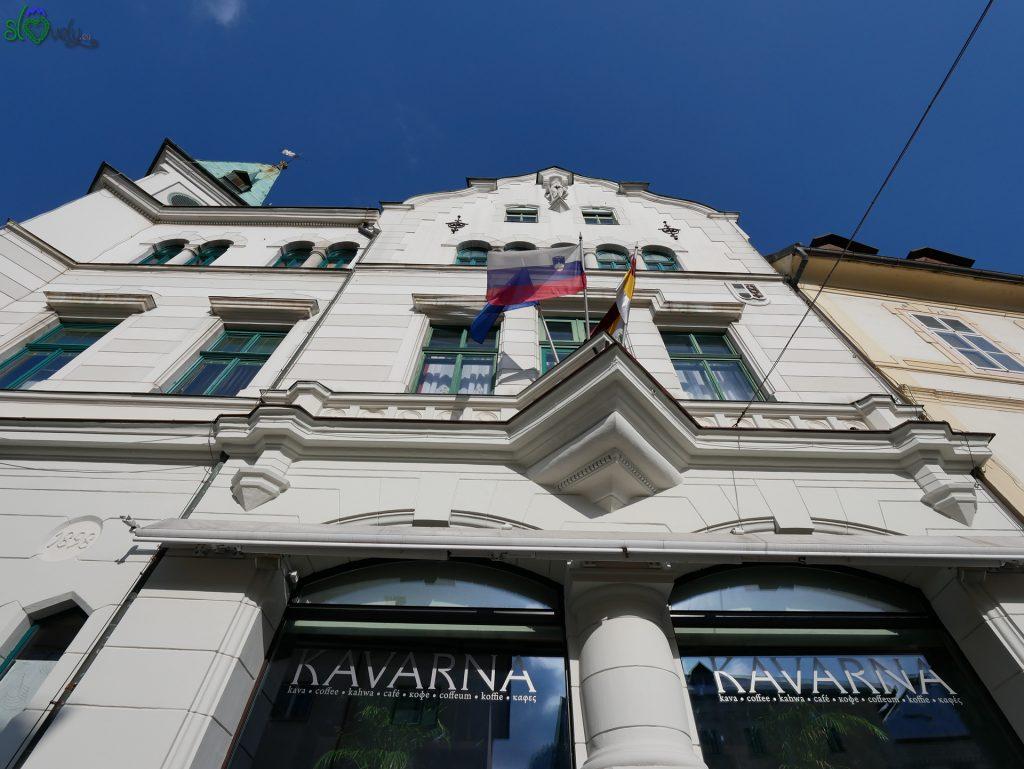 Il municipio di Idrija.
