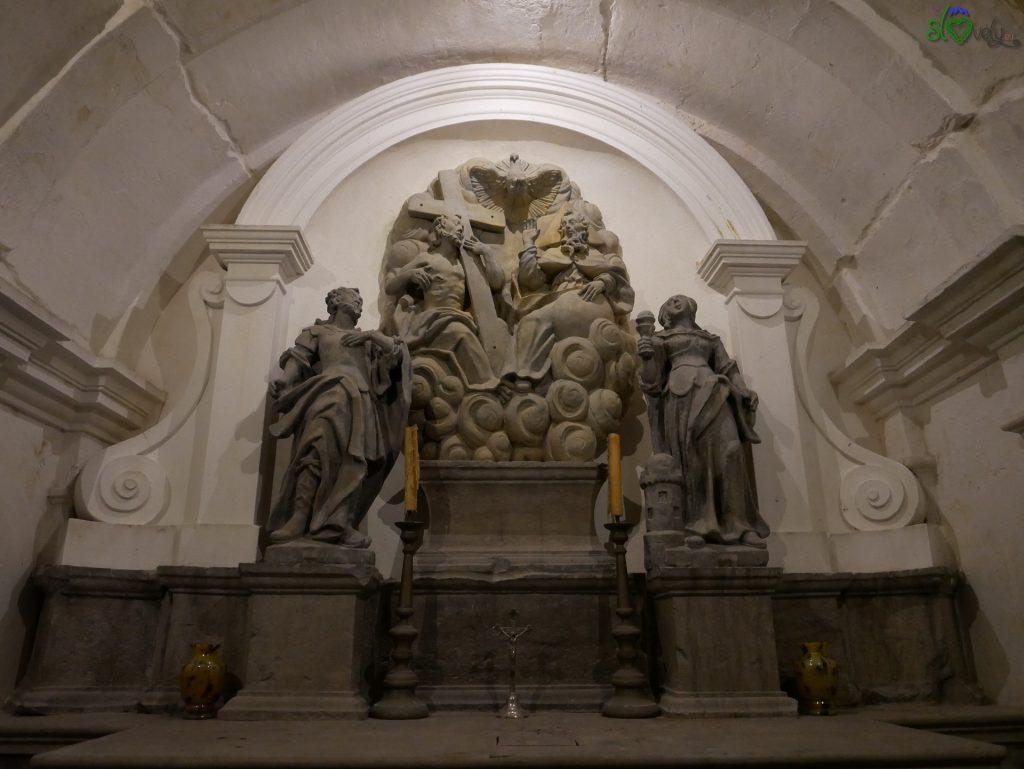 La cappella della Santa Trinità.