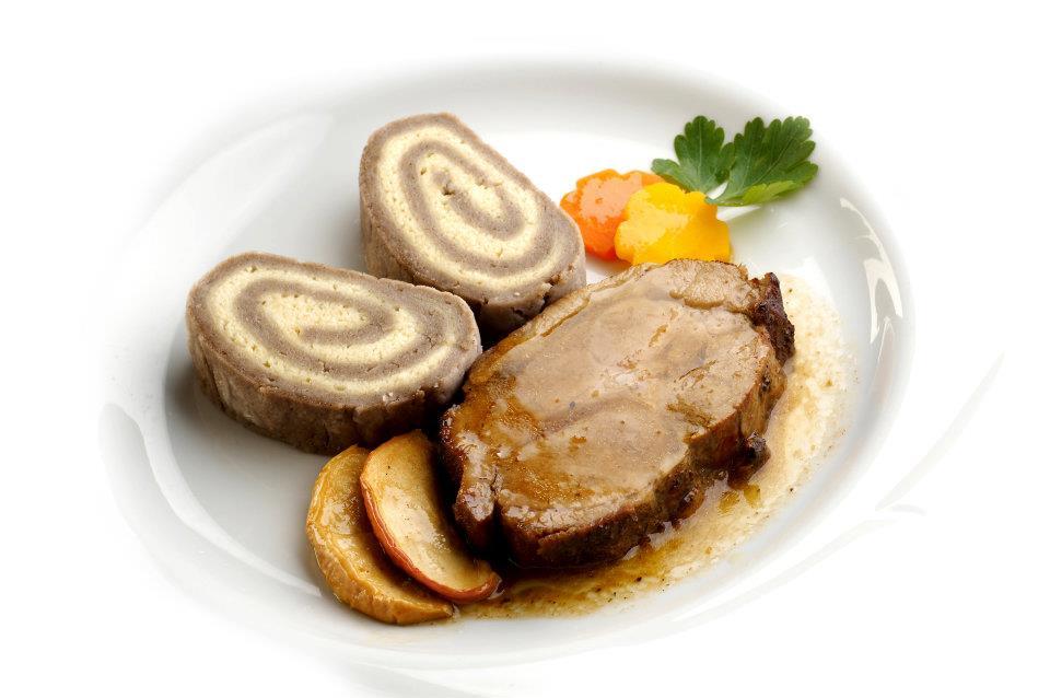 Uno degli ottimi piatti della gostilna.