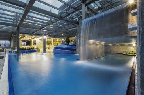 Le piscine interne del Rikli (foto dal sito ufficiale)