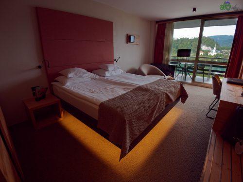 La nostra splendida stanza vista lago.