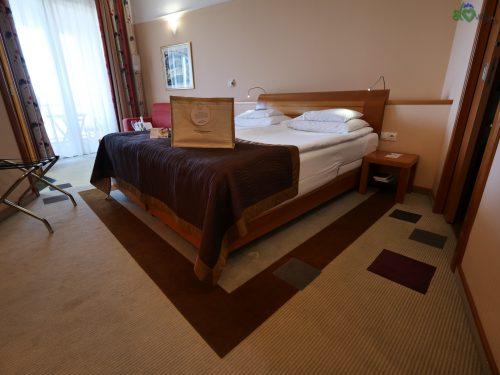 La bella camera da letto del Livada Prestige.