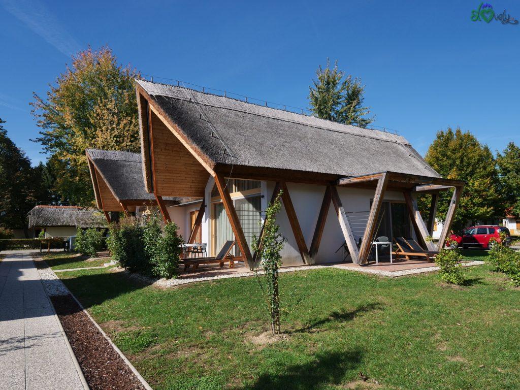 Le bellissime casette della Prekmurska Vas.