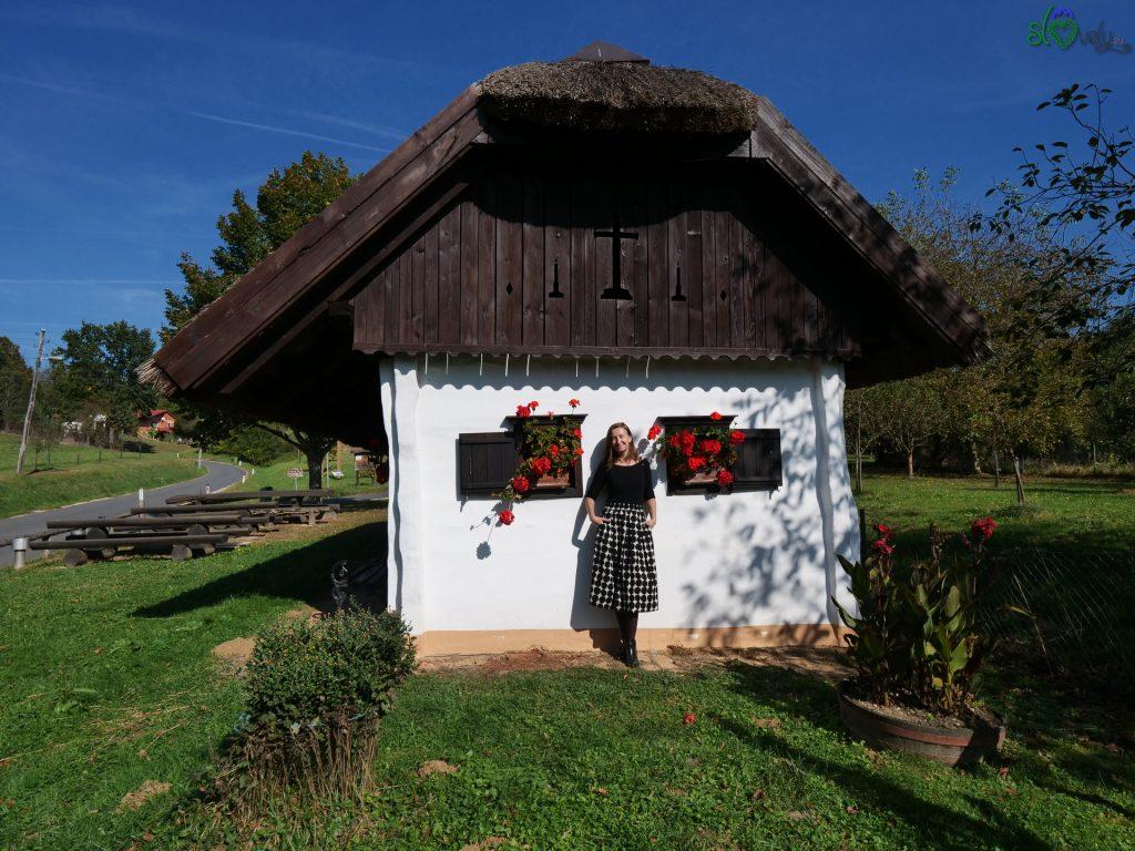 """Una bellissima """"cimprača"""", tipica casa della Pannonia."""