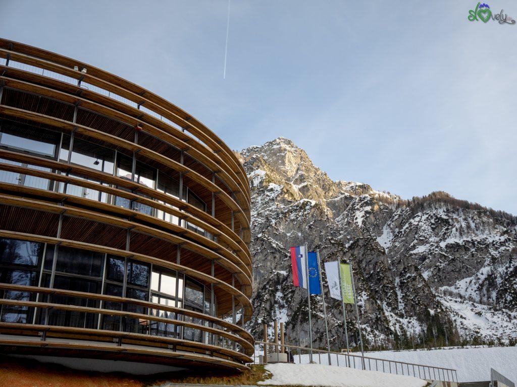 Il centro di sci nordico di Planica.