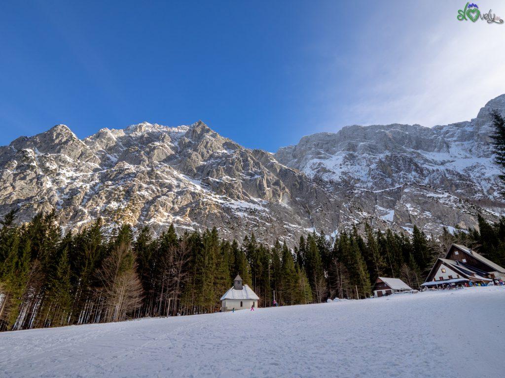 Il rifugio Dom v Tamarju tra la foresta e le montagne della Gorenjska.