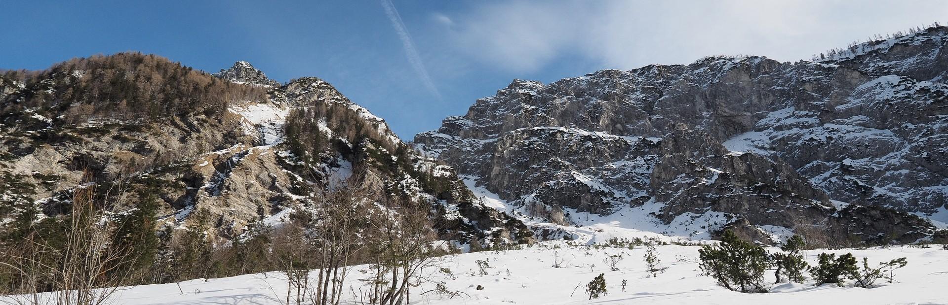 Da Planina alla valle Tamar.