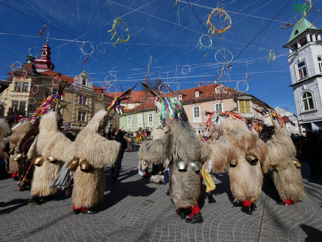 Il Kurentovanje di Ptuj, il più famoso carnevale della Slovenia