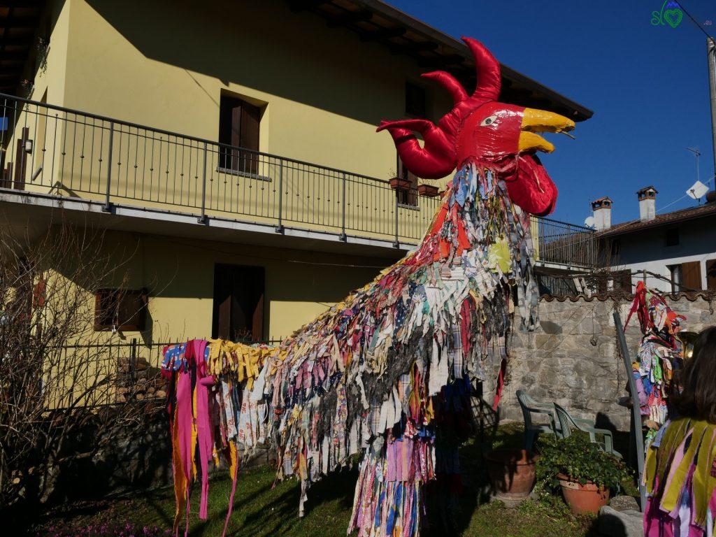 Il grande gallo di Marsin/Mersino. - Pust Benečija