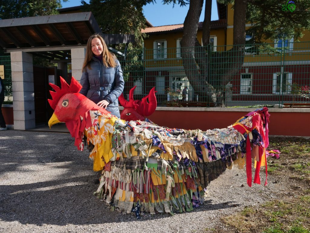 Il gallo, la gallina e la nostra Sara, a San Pietro al Natisone/Špietar. - Pust Benečija