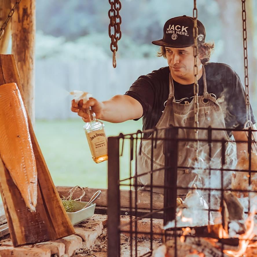 Ivo Tomšič alla griglia.