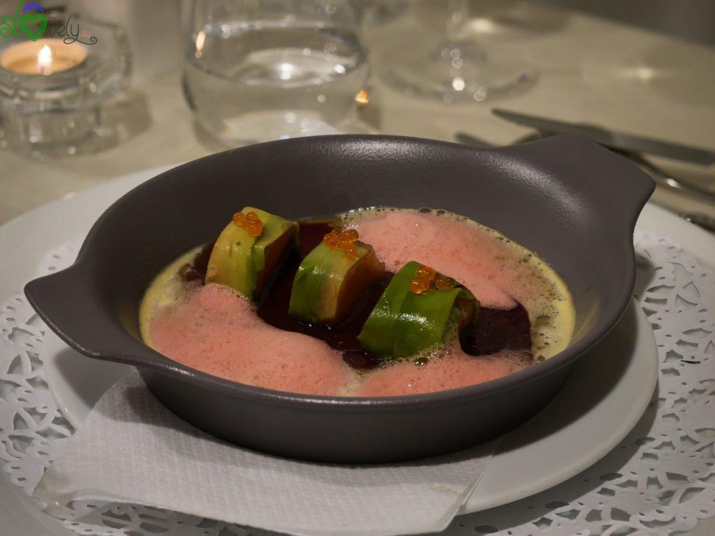 Le ricette degli chef sloveni: Robert Žibrat – Vellutata di aglio orsino 2