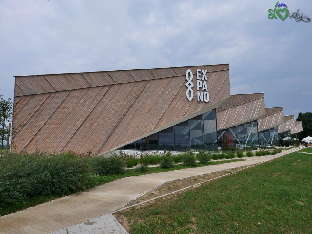 Expano, il padiglione dell'Expo di Milano oggi in Pomurje.