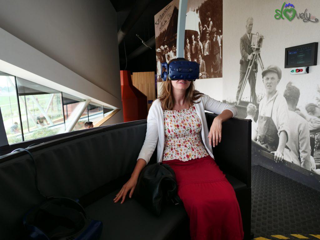 Con la realtà virtuale si può anche volare, comodamente seduti!