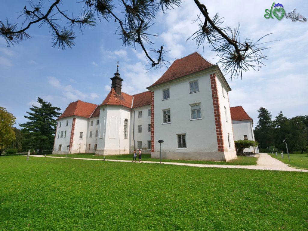 Il castello di Murska Sobota, sede del Pomurski muzej.