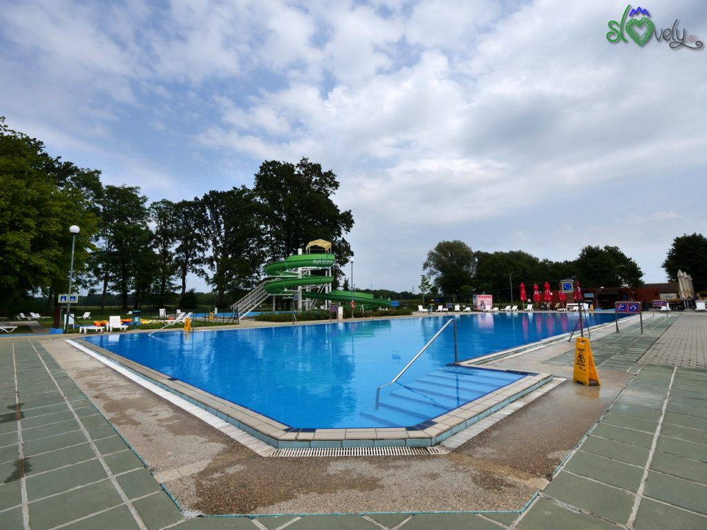 Il complesso di piscine all'aperto di Murska Sobota.