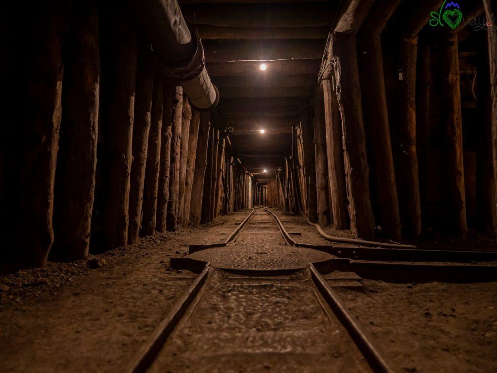All'interno della miniera Antonijev rov.
