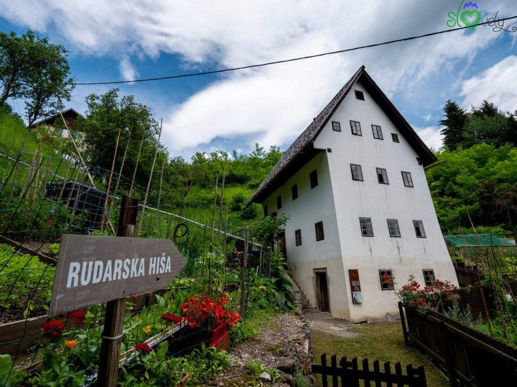 La Rudarska Hiša, tipica casa dei minatori di Idrija.