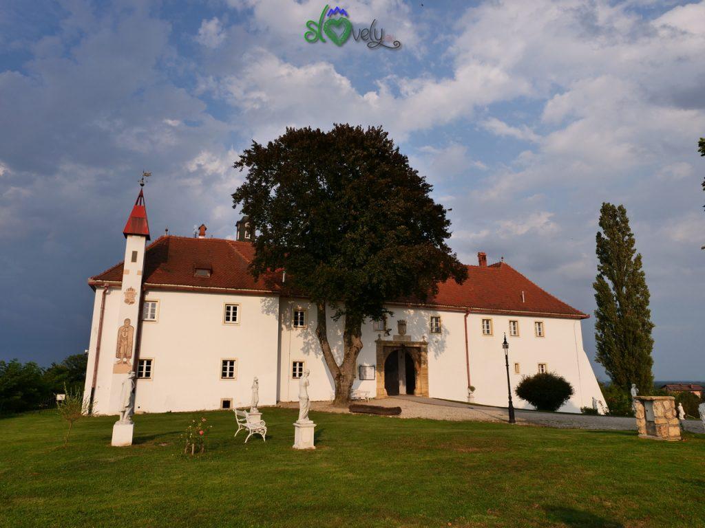 Il castello di Gornja Radgona. Pomurje