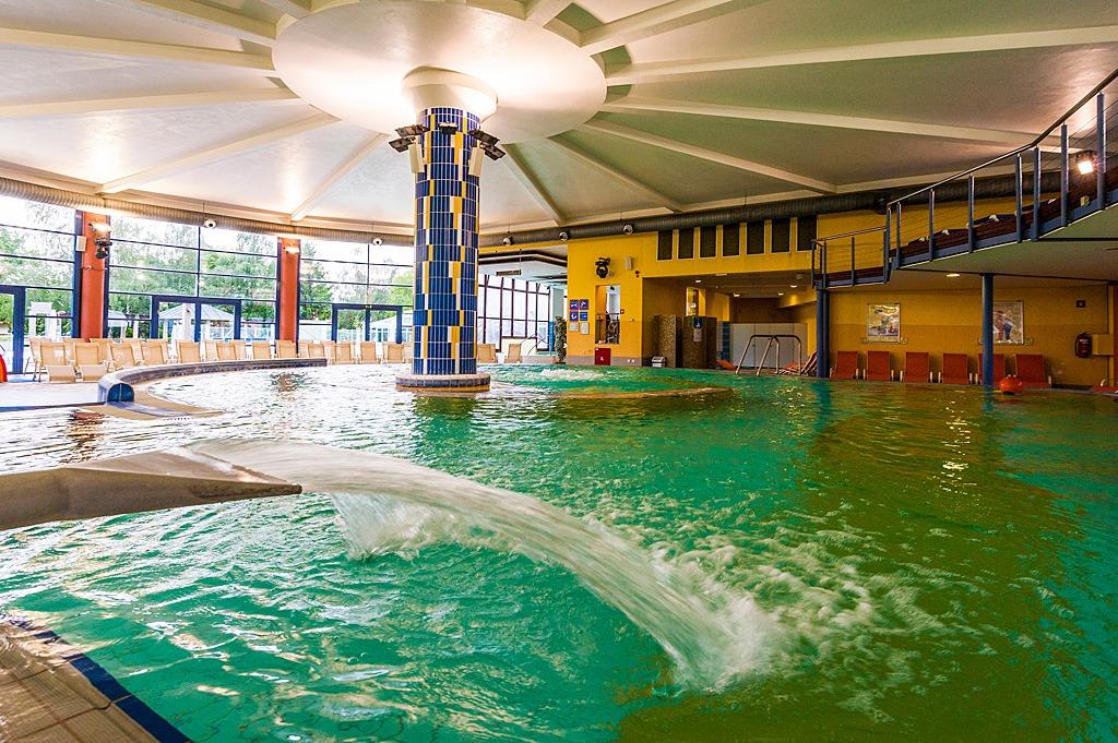 Le piscine delle terme (immagine presa da Facebook).