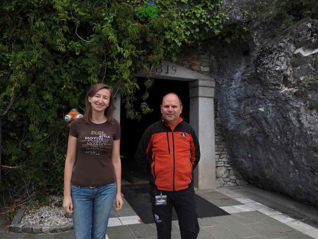 Con la nostra super guida Franc Dekleva, che parla anche italiano.