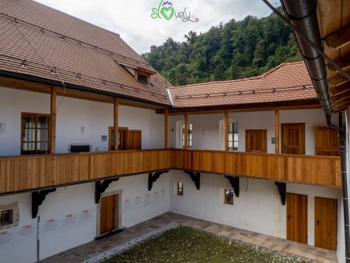 La Mencingerjeva hiša, parte del museo civico di Krško.