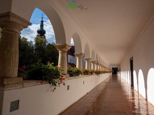 All'interno della Galerija Božidar Jakac.