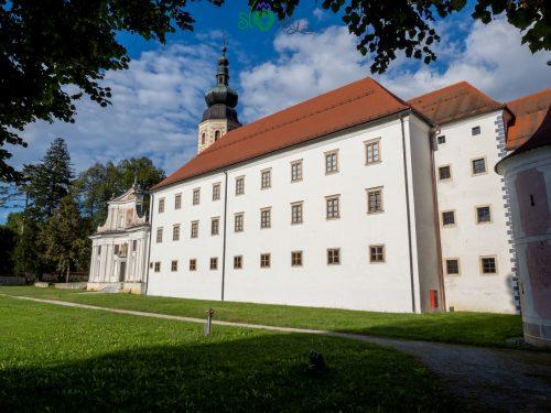 L'antico monastero della Galerija Božidar Jakac.