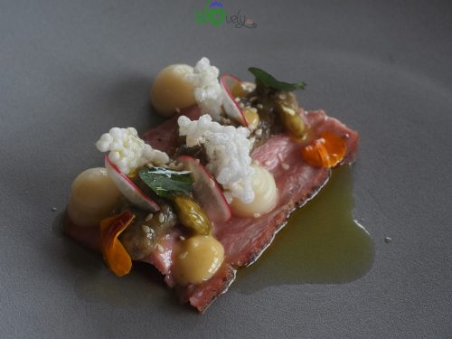 Creazioni d'alta cucina al ristorante Tri lučke.