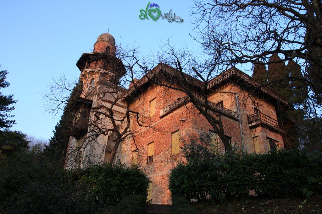 L'eclettica Villa Rafut dell'architetto Anton Laščak.