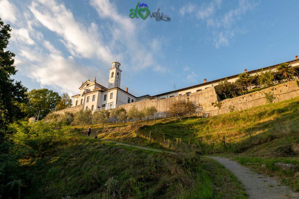 Il monastero di Kostanjevica, tra Nova Gorica e Gorizia.