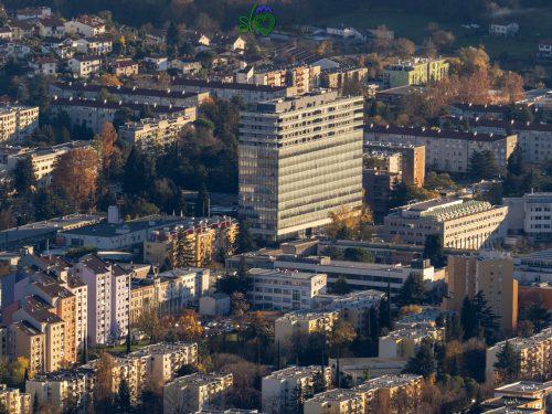 La moderna Nova Gorica di oggi.