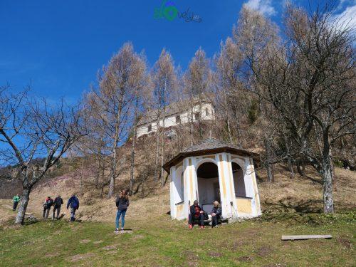 La cappella ottagonale.