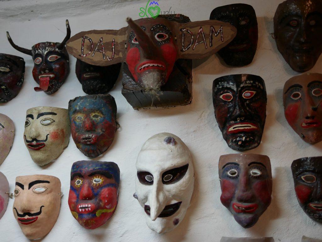 La collezione di maschere di Branko Žnidarčič. Liški pustje