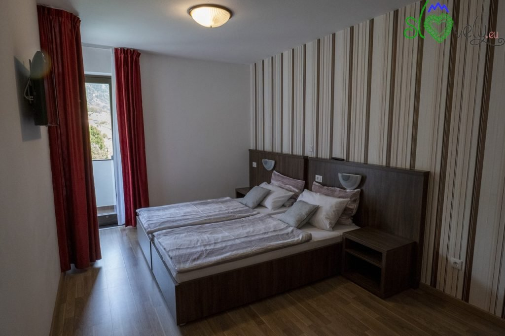 Le belle stanze rinnovate del Penzion Šterk.