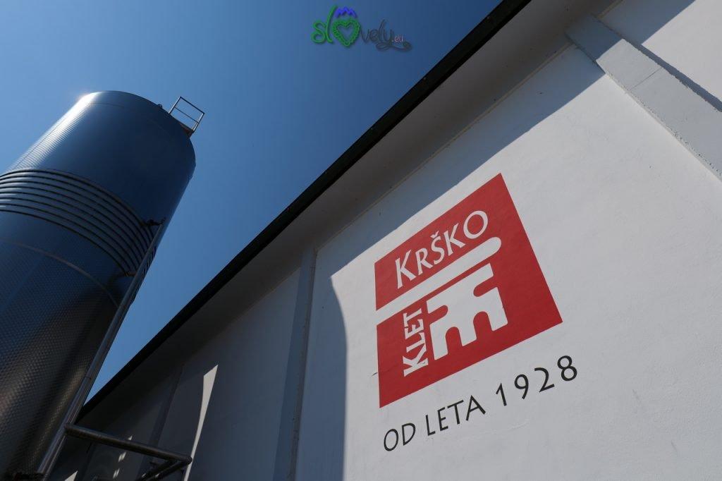 La cantina di Krško, attiva dal 1928.