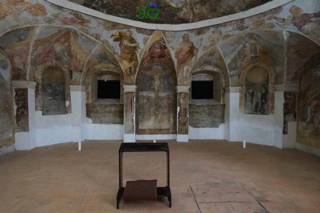 All'interno della Lutrovksa klet, la cantina di Lutero.