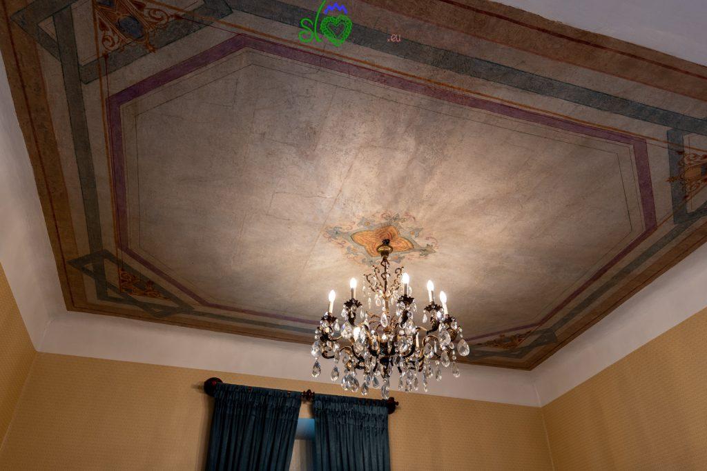 I bei soffitti della casa.